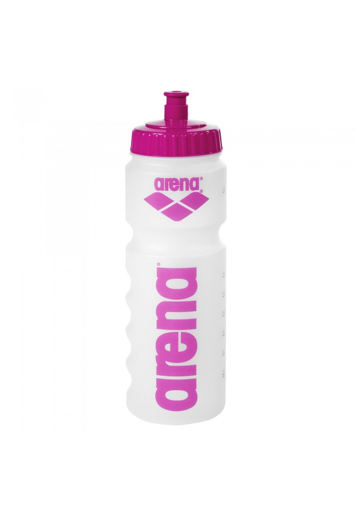 Bidon Arena Water Bottle (clear-pink)