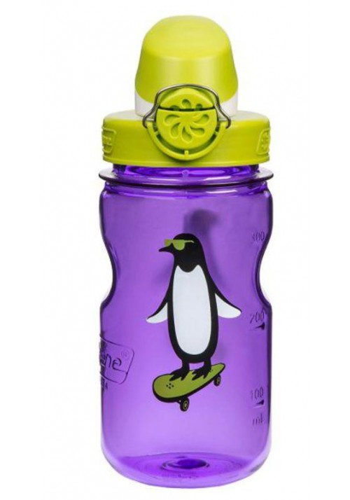 Bidon NALGENE OTF Kids Cap and Penguin 350ml Fiolet